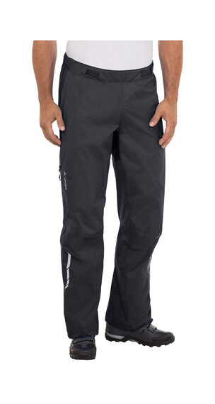 VAUDE Tremalzo Rain Pants Men black